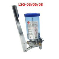 1X Manual Grease Lathe Pump Unit LSG-08 Machine Mount Punch Oiler Tool 300-800CC