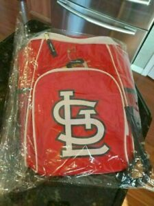 ST. LOUIS CARDINALS MLB STL Back Pack Soft Sided Insulated Cooler Bag Coca Cola