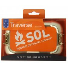 SOL Survive Outdoors Longer TRAVERSE - Traditional Survival Tin with Modern Kit!