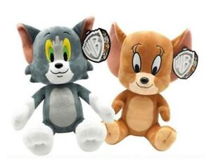 """Official Tom and Jerry Collectable Plush Toys 12"""""""