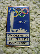 Pin Olympia Helsinki 1952-2002 passend zur Olympiade 2016 Rio Olympic Game IOC