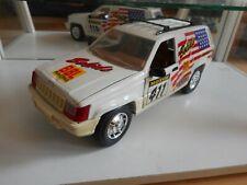 "Majorette Jeep Grand Cherokee ""Bolids' in White on 1:18"