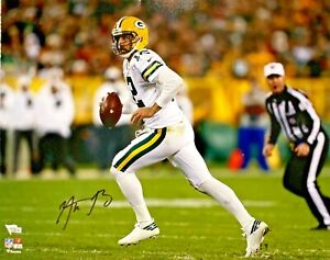 Green Bay Packers Aaron Rodgers Autographed 16x20 Photo Fanatics Hologram