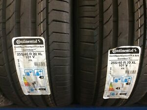1 X 255/40VR20 CONTINENTAL SPORT 5 SUV  (SEAL TYRES) (CLEARANCE)