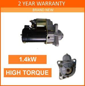 Starter Motor fits FORD GRANADA Mk3 & SIERRA Mk2 1989-1994 MT79 type 9 *UPRATED*