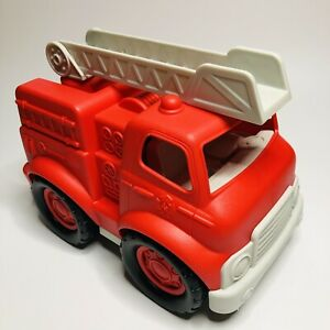 On The Go Fire Engine - Toddler Chunky Red Toy Truck for Ages 18 Months +