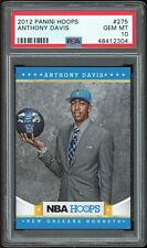 2012-13 Panini Hoops Anthony Davis #275 Rookie PSA 10