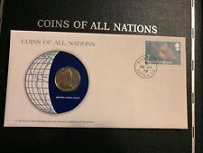 BRITISH VIRGIN ISLANDS COINS OF ALL NATIONS 25 CENTS 1979 680 MINTED, NEW
