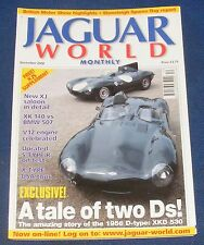 JAGUAR  WORLD MONTHLY DECEMBER 2002 - A TALE OF TWO DS!/V12 ENGINE CELEBRATED