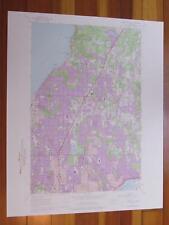 Edmonds East Washington 1976 Original Vintage USGS Topo Map
