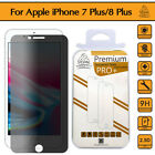 Gorilla Tech Privacy Glass Screen Protector Cover for Apple iPhone 8 Plus 7 Plus