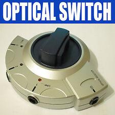 SPLITTER OTTICO TOSLINK SWITCH / 3 Way SPDIF | 950