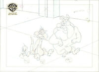 Looney Tunes Sylvester, Tweety and Hector-Original Production Drawing