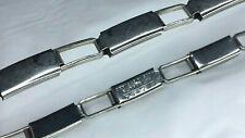 Vintage Alflex Expanding Sleeve Holder Garter Silver Tone Peaky Blinders M5