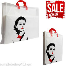 More details for new flexi loop princess design printed carrier bags strong gift party bag