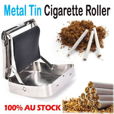 Metal Automatic Cigarette Tobacco Roller Roll Rolling Machine Box Case Maker Tin