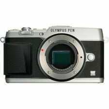 Olympus E-P5 PEN 16.1 MP Mirrorless Digital Silver Camera Body Only