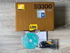 Nikon D3300 Kit Fotocamera Reflex Digitale con Nikkor 18/105 VR, 24.2 Megapixel