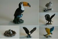 Schleich seltene Vögel Adler Tucan Eule Raritäten zur Auswahl teilweise NEU