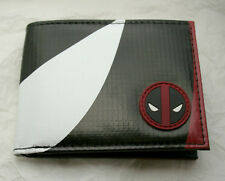 Marvel Comics Deadpool Parachute Cloth logo Wallet New Nos Tags Billfold