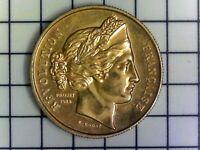 France - Médaille 'Marianne 1988 - Bicentenaire de la Révolution Française 1789