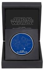 Star Wars Millenium Falcon - 1 Oz Silber Münze 2$ Niue 2017 Silber 999/1000
