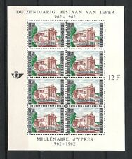 BELGIQUE (1962) - COB BLOC 33*MLH - MILLENAIRE D'YPRES (962/1962)