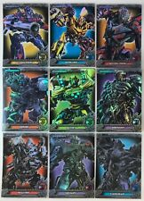 TRANSFORMERS OPTIMUM COLLECTION Breygent Complete FOIL Chase Card Set (PF1-PF9)