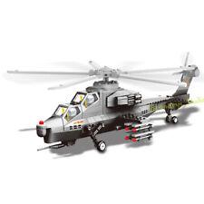 304pcs Military Helicopter Model Building Blocks set Fighter Plane Toys Bricks