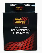 HIGH ENERGY IGNITION / PLUG LEADS: S/B CHEV, UNDER EXHAUST, 10mm, 90 degree ends
