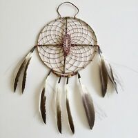 "Native American Navajo Dream Catcher Medicine Spirit Wheel Collectible 8"" #2"