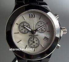 Danish Design * Keramik Stahl Chronograph * Ref. 3324437 IV63Q874 * Quarz Damen