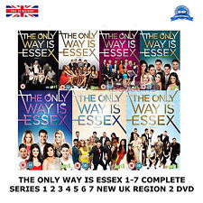 THE ONLY WAY IS ESSEX SERIES 1-7 COMPLETE SEASONS 1 2 3 4 5 6 7 NEW REGION 2 DVD