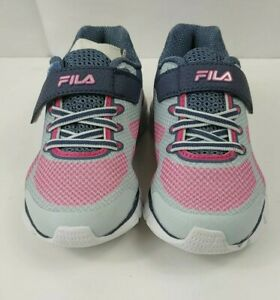 Fila Exolize 2 Girls Running Shoes - Pink/Gray Color - Size5 Super Cute & Comfy