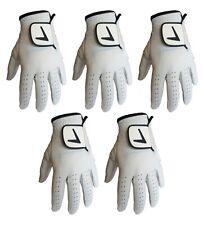 5 X MENS Golf Gloves Cabretta Leather 5 Sizes SALE £3.00 EACH! SEPTEMBER SALE!