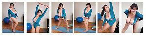 H #6 Milena Velba 6 cleavage 7x5 inch photos Free shipping worldwide