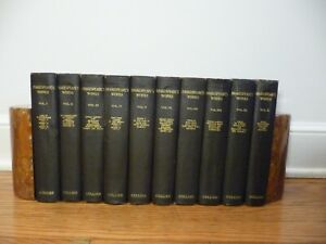 Shakespeare's Works, 10 vols. - Henley Edition;