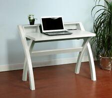 """151071 Smart Home 43"""" White USB Integrated Workstation Desk"""