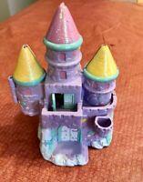 Vintage Polly Pocket Trendmasters Purple Sparkle Starcastle By the Sea Castle