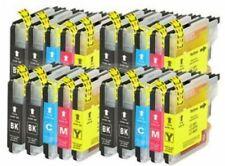 20 cartuchos COMPATIBLES para BROTHER DCP-J125  DCP-J140 W DCP-J315 W LC-985