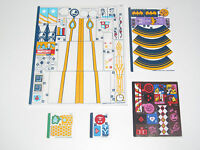 Lego ® Planche Stickers Autocollants Super Heroes Girls Choose Model NEW