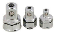 """Box Wrench Adapter Set Convert Spanner into Low Profile Ratchet 1/4"""" 3/8"""" 1/2"""""""
