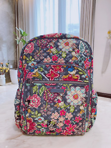 NEW Vera Bradley Disney Parks MICKEY AND FRIENDS ICONIC Campus backpack FREESHIP