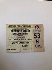 More details for electric light orchestra ticket stub wembley arena 10 june 1978 rare