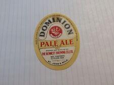Vintage Canada, Newfoundland Dominion Ale Beer Label