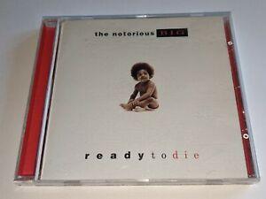 "The Notorious B.I.G. ""Ready To Die"" CD Original 1994 Classic Rap Album Biggie"
