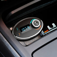 LCD Bluetooth Car Kit FM Transmitter Modulator MP3 Player USB Charger For iPhone