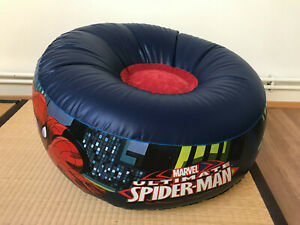 COLLECTOR - Spider-Man Inflatable Chair Marvel Excellent Condition