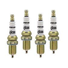 """U-Groove Resistor Spark Plug; 14mm Thread; 3/4"""" Reach; Heat Range 6; 4 Pack"""