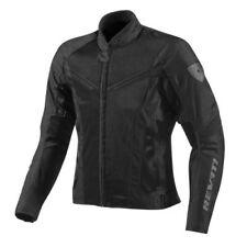 Giacche copertura regolabile nero per motociclista